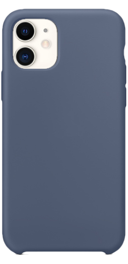 ≫ Iphone 11 Silikone Cover (Blã¥) Tilbehør >