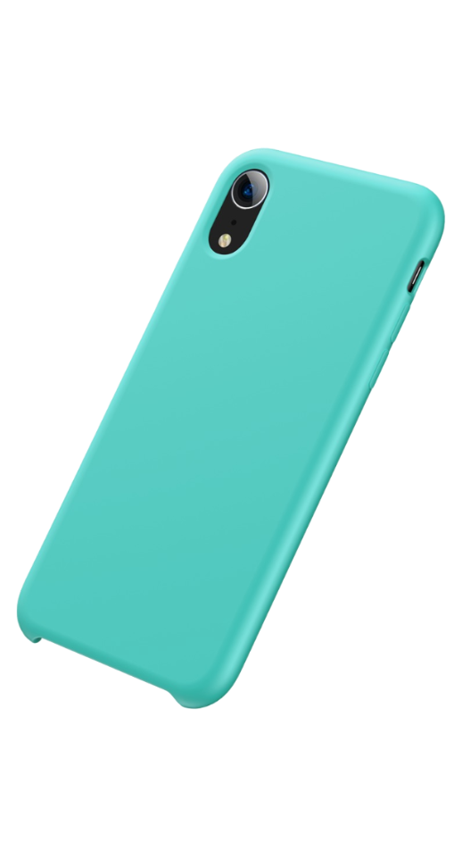 Image of   Baseus - iPhone XR silikone cover (turkis)