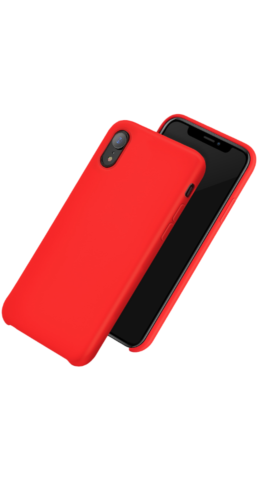 Image of   Hoco - iPhone XR silikone cover (rød)