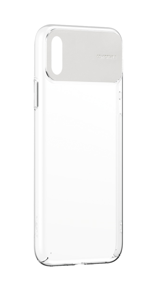 Image of   Baseus - iPhone X/XS comfort cover (hvid)