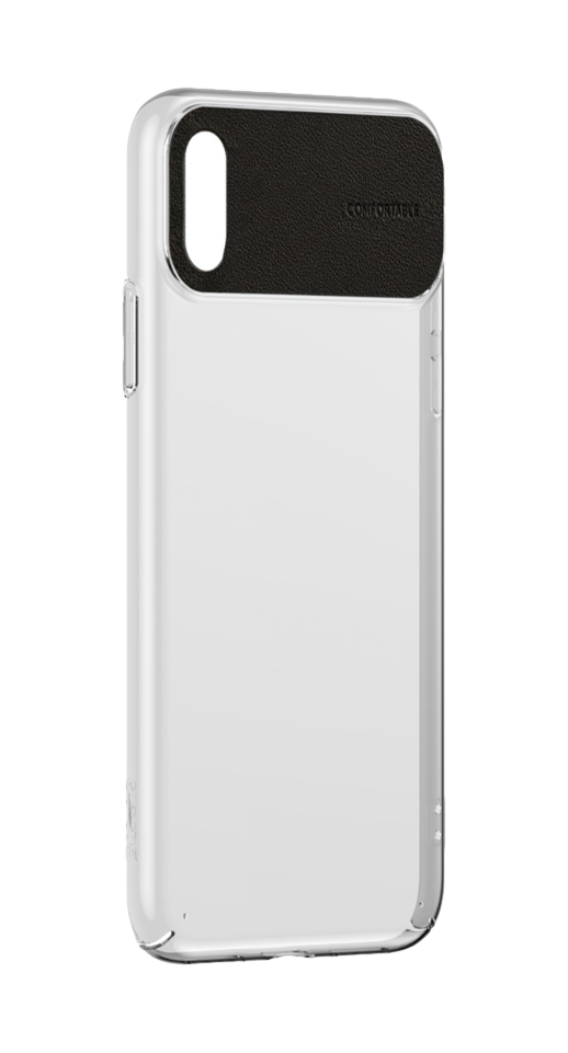 Image of   Baseus - iPhone XS Max comfort cover (sort)
