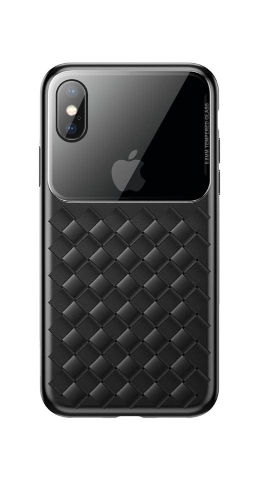 Baseus - Iphone Xs Max Flet Cover (Sort)