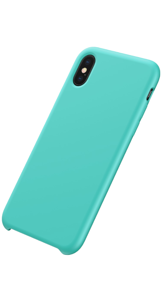 Image of   Baseus - iPhone X/XS silikone cover (turkis)
