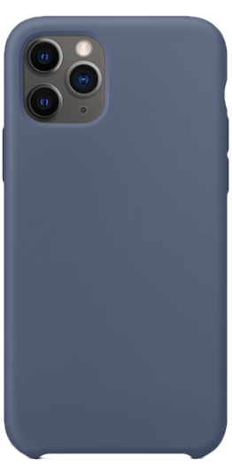 Image of   iPhone 11 Pro Max Silikone cover (blå)