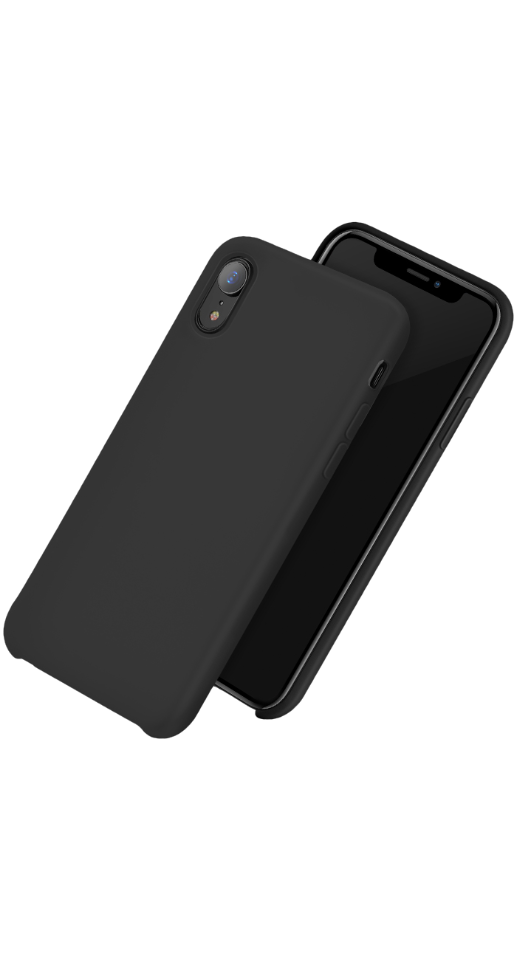 Image of   Hoco - iPhone XR silikone cover (sort)