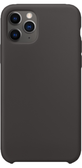 Image of   iPhone 11 Pro Max Silikone cover (sort)