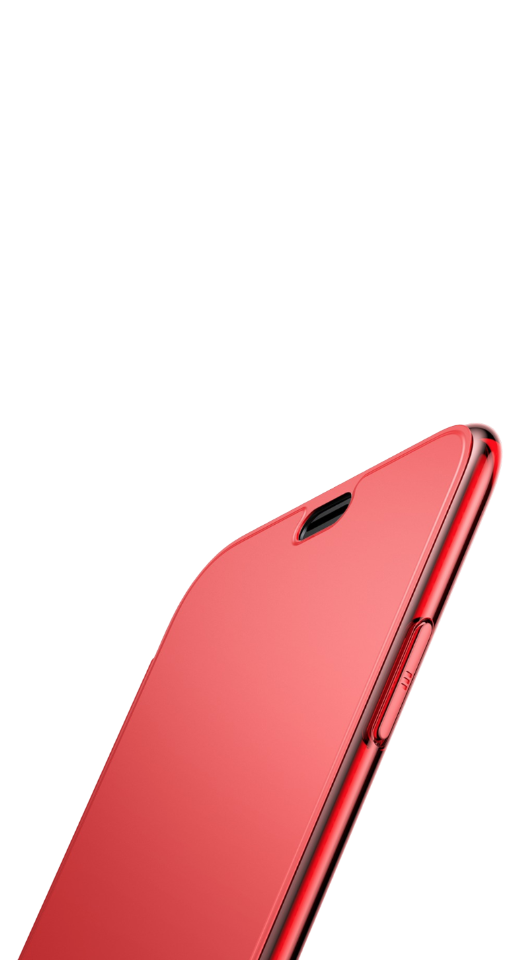 Image of   Baseus - iPhone XR slim flip cover (rød)