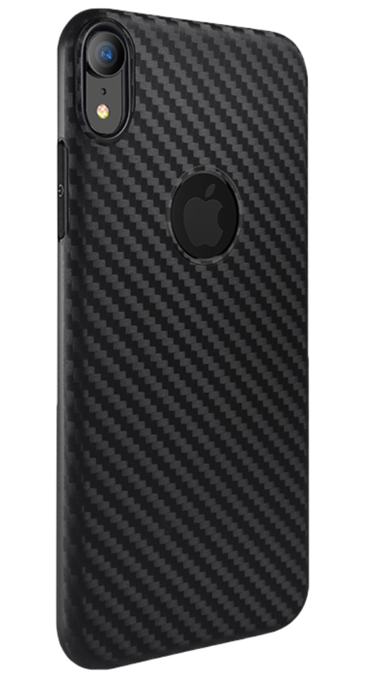 Image of   Hoco - iPhone XR carbon cover (sort)