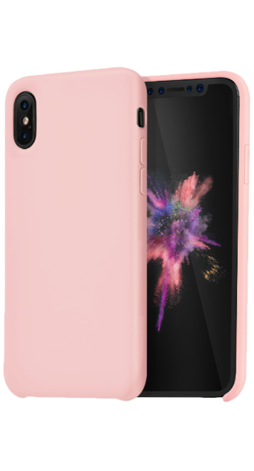 Image of   Hoco - iPhone XS Max silikone cover (pink)