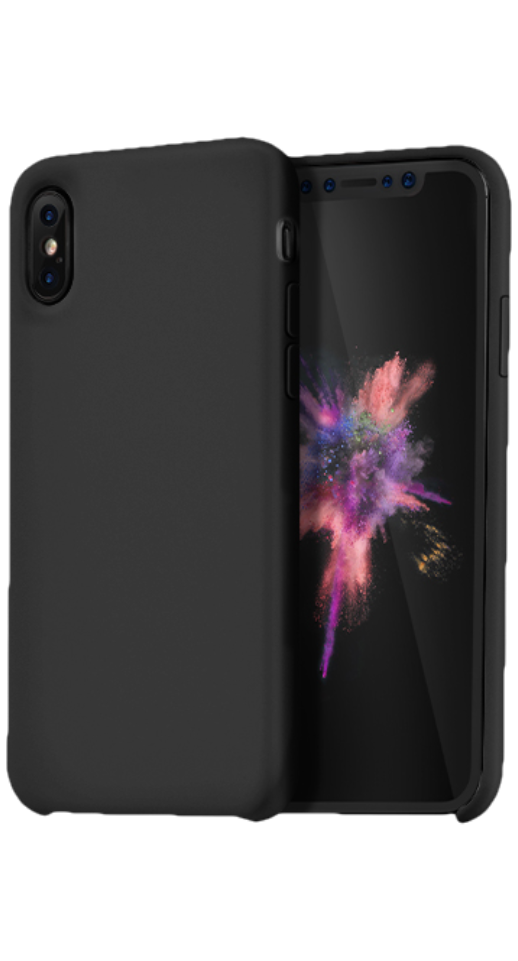 Image of   Hoco - iPhone X/XS silikone cover (sort)