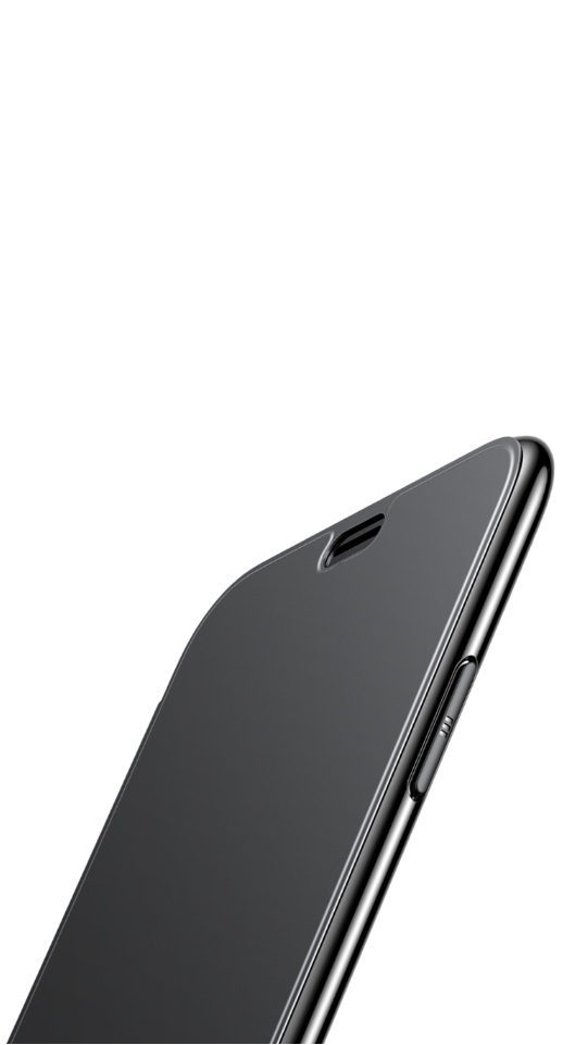 Image of   Baseus - iPhone X/XS slim flip cover (sort)
