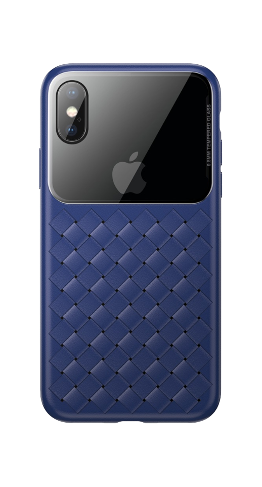 Image of   Baseus - iPhone XS Max flet cover (blå)