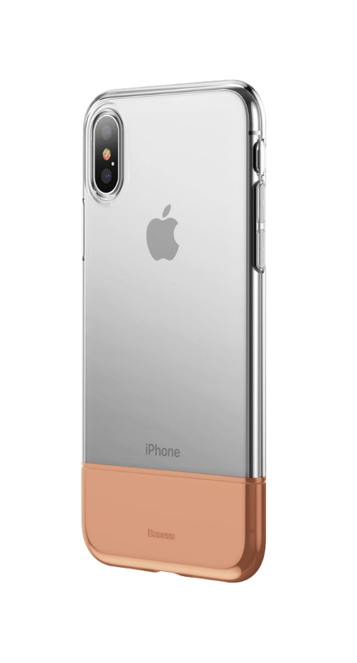 Image of   Baseus - iPhone X/XS dual TPU cover (guld)
