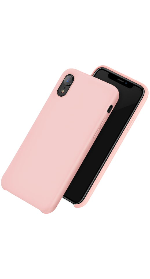 Image of   Hoco - iPhone XR silikone cover (pink)